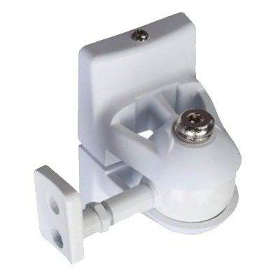 Universal Speaker Wall Mount In White By Pinpoint Mounts 16 99 For Home Theater And Satellite Speakers Speaker Wall Mounts Speaker Mounts Speaker Brackets