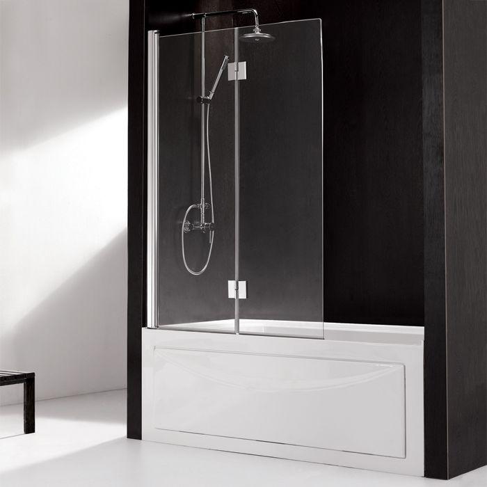 Hinged European Glass Bathtub Screen   Shower doors   Pinterest