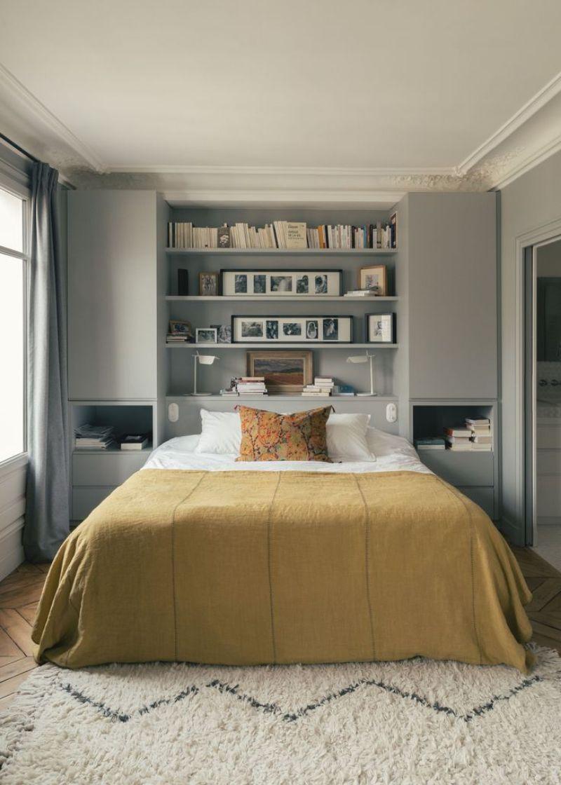 Püf Noktaları ile Küçük Yatak Odası Dekorasyon Fikirleri #Fikirleri #Fikirleri #Püf