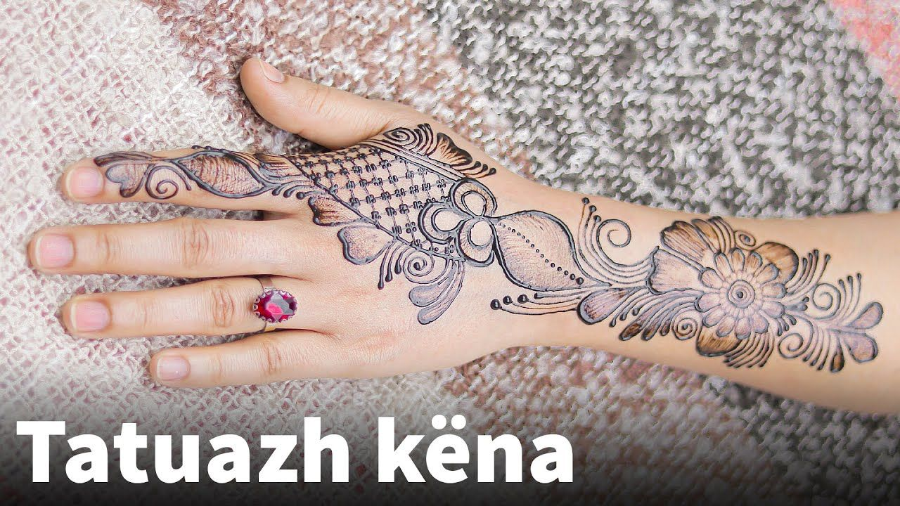 Tatuazh Kena Dizenjime Kena Dizajn Kena Ne Dore Dizajn Kena Ne Dor Mehndi Designs Mehndi Video Henna Hand Tattoo