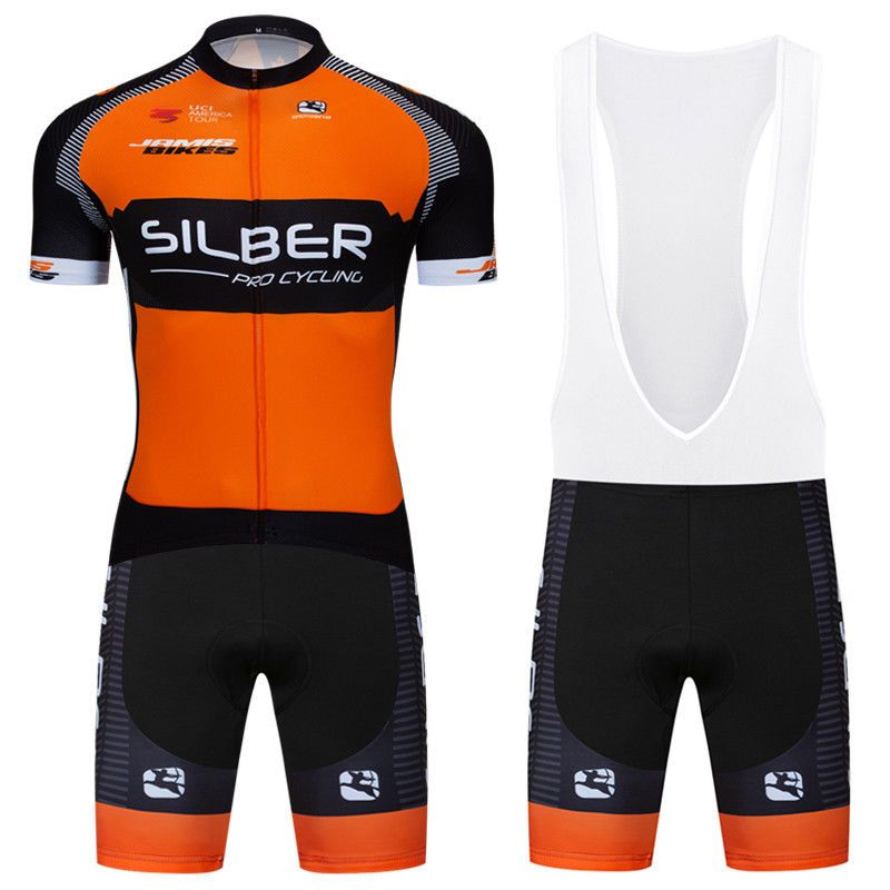 2018 Men Cycling Jersey Bib Shorts Race Fit Padded Pants Bike Shirt Maillot  Gear  Unbranded 052ab7b8d