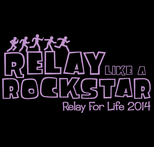 Support For American Cancer Society S Relay For Life Fundraiser Shirt Design Small Zoomed Relay For Life Relay American Cancer Society