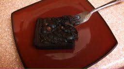 Gooey chocolate brownies - only 153 calories!