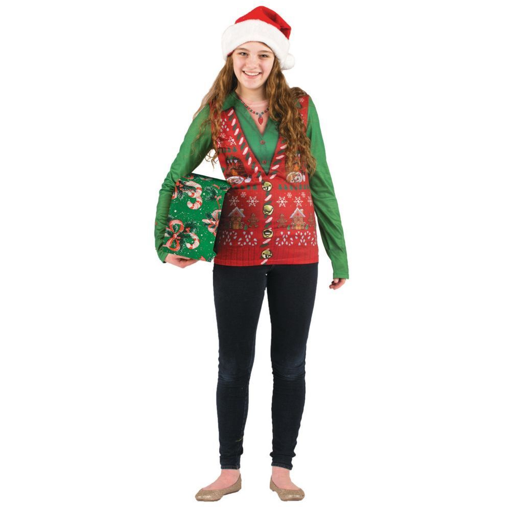 Ugly Christmas Sweater Costume for Women  Sweater Vests  Pinterest