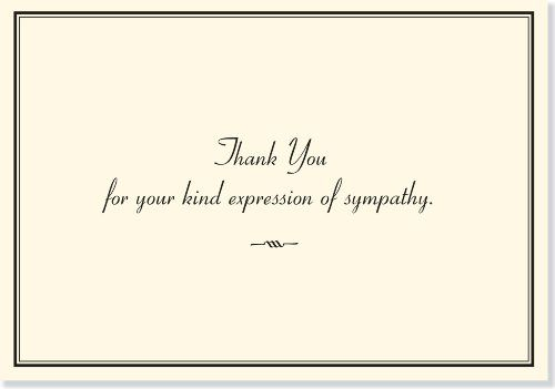 Sympathy Thank You Notes Stationery Note Cards  More Info Could