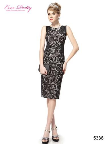 Charming Stylish Black Lace Short Summer Casual Pencil Dress - Ever-Pretty  US 6083fdae2
