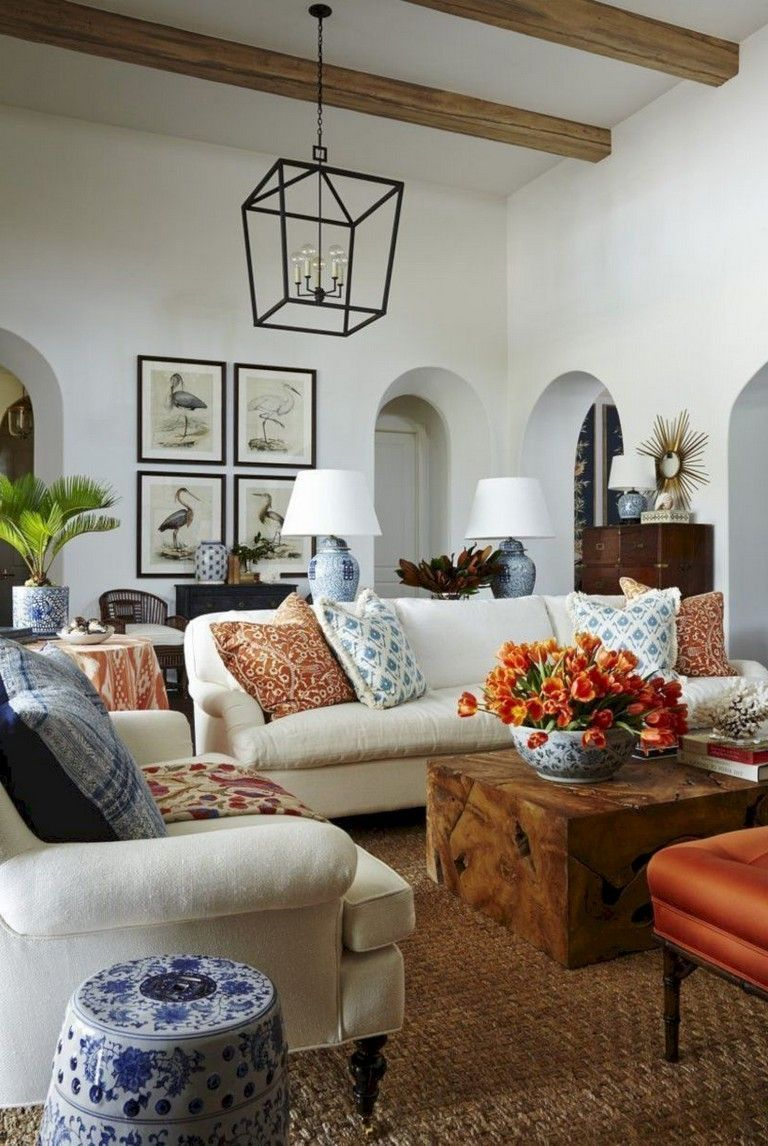 27 Awesome European Farmhouse Living Room Design Ideas Living