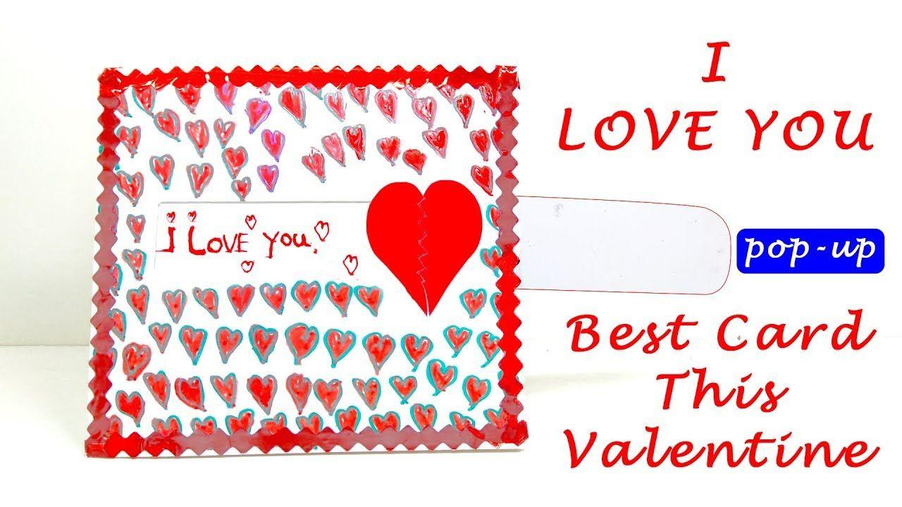 Diy Valentine Card Love Slider Card Tutorial Best Valentine Card Lin Diy Valentines Cards Card Tutorial Valentines Cards