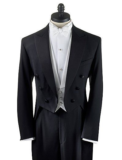 34 S Men Black Full Dress Tuxedo Tailcoat Tux White Tie Tails Coat Satin Lapel Tuxedotailstailcoat