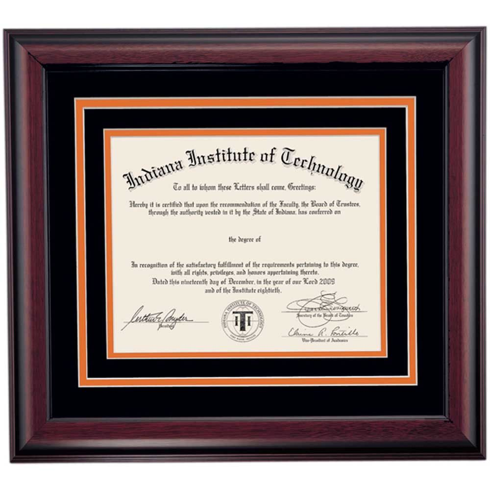 Indiana Tech School Color Heritage | Indiana Tech Diploma ...