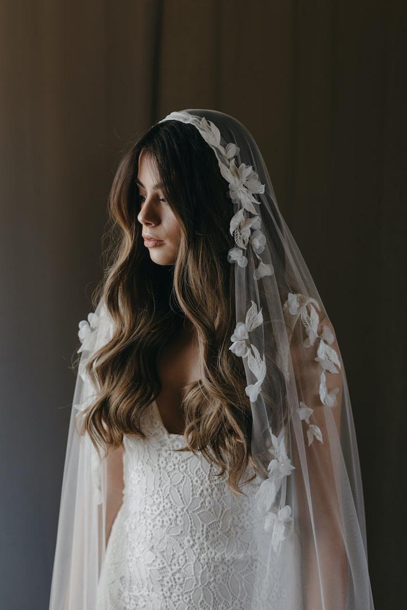 Carmen Juliet Cap Veil Bridal Cape Veil Lace Wedding Veil Wedding Veils Lace Bridal Cape Bridal [ 1191 x 794 Pixel ]