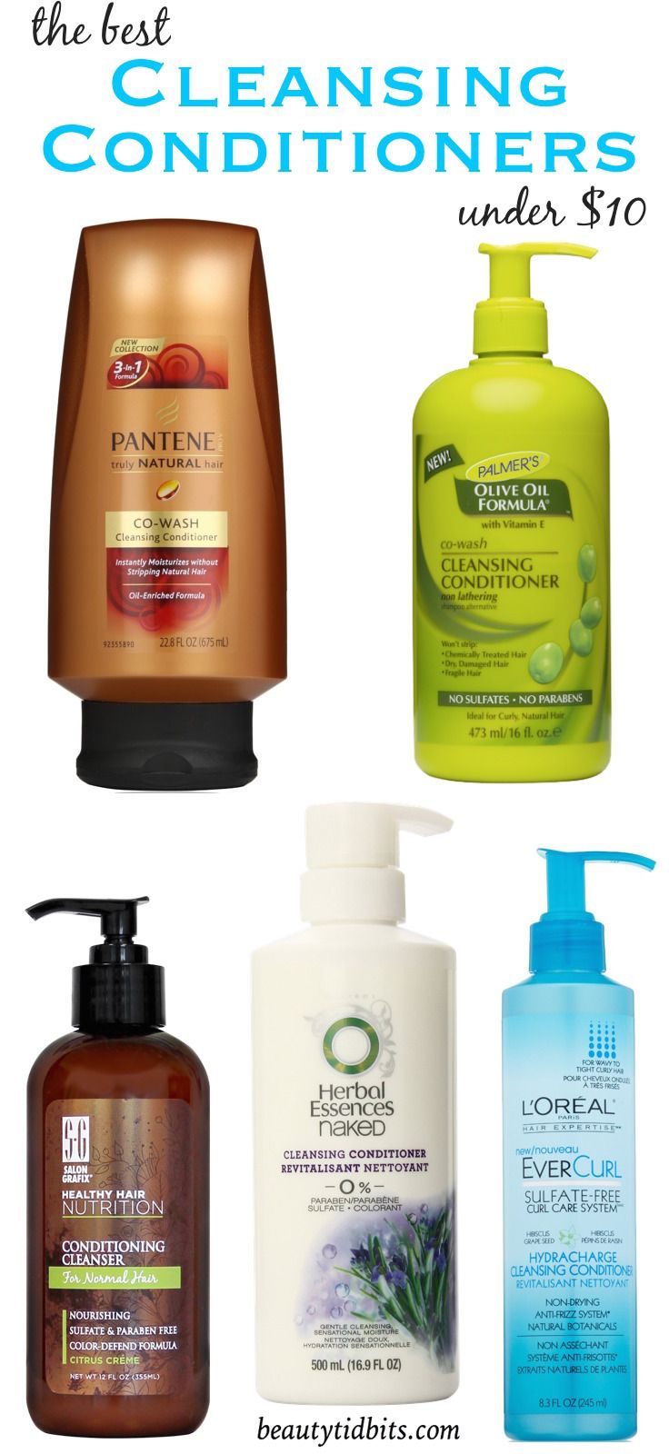 Cheap Thrills! Favorite Cleansing Conditioners Under 10