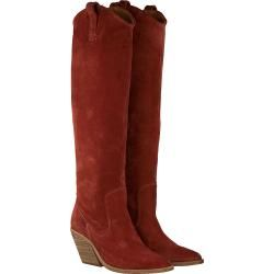 Photo of Bronx Hohe Stiefel Low-Kole 14188 Rot Damen Bronx
