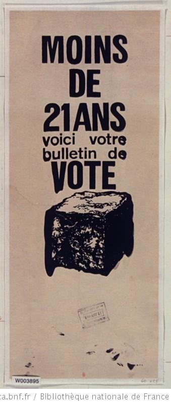 13 mai 1968 : Ordre de grève générale et de manifestation en France ...