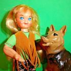Vintage Barbie  European 70s HippieTutti #8128 from 1975 with German Shepard #Doll #germanshepards Vintage Barbie  European 70s HippieTutti #8128 from 1975 with German Shepard #Doll #germanshepards