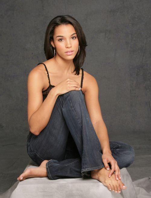 Barefoot lesbian ebony