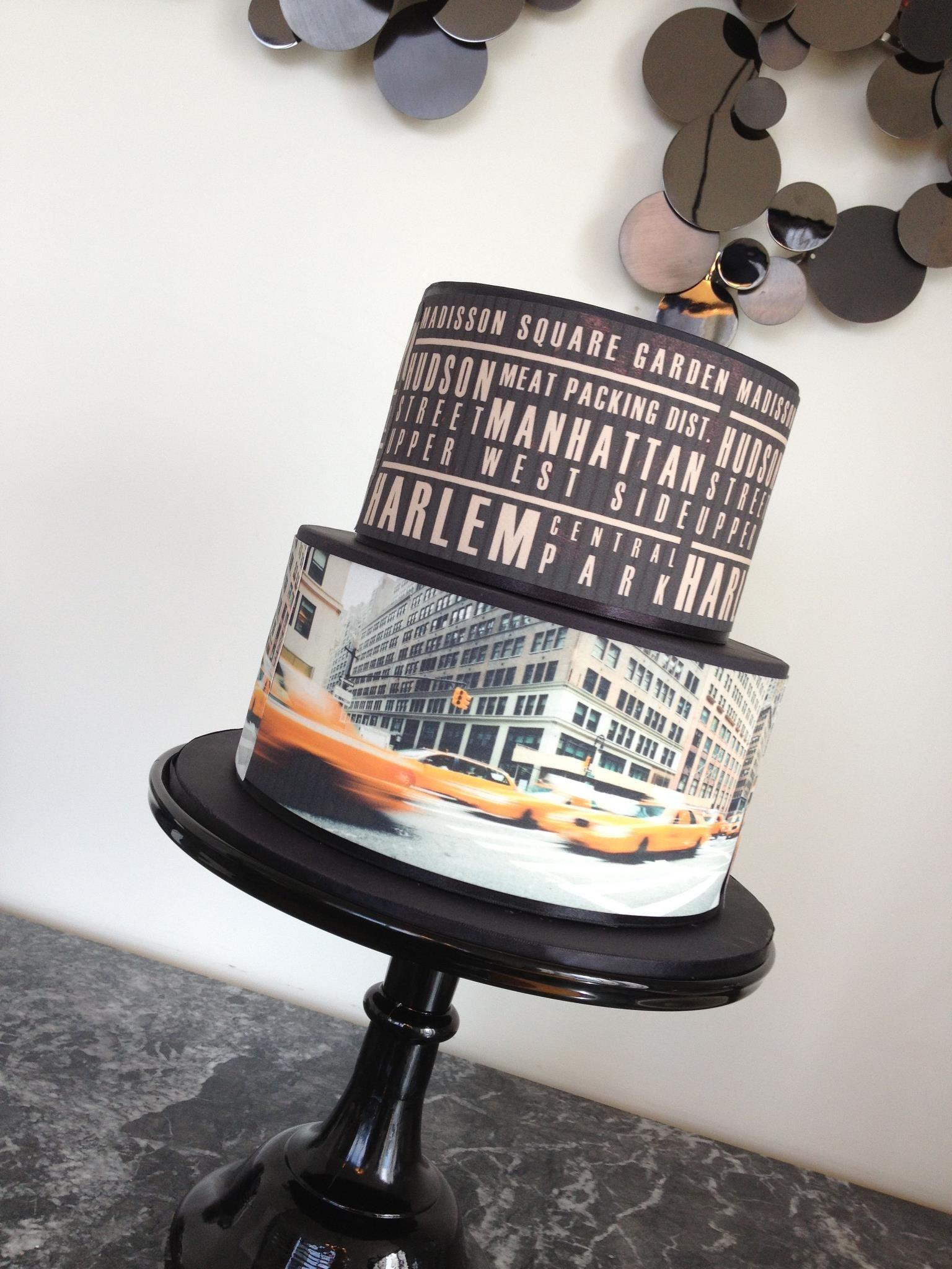New York themed cakes New York Themed Birthday Cake Susies