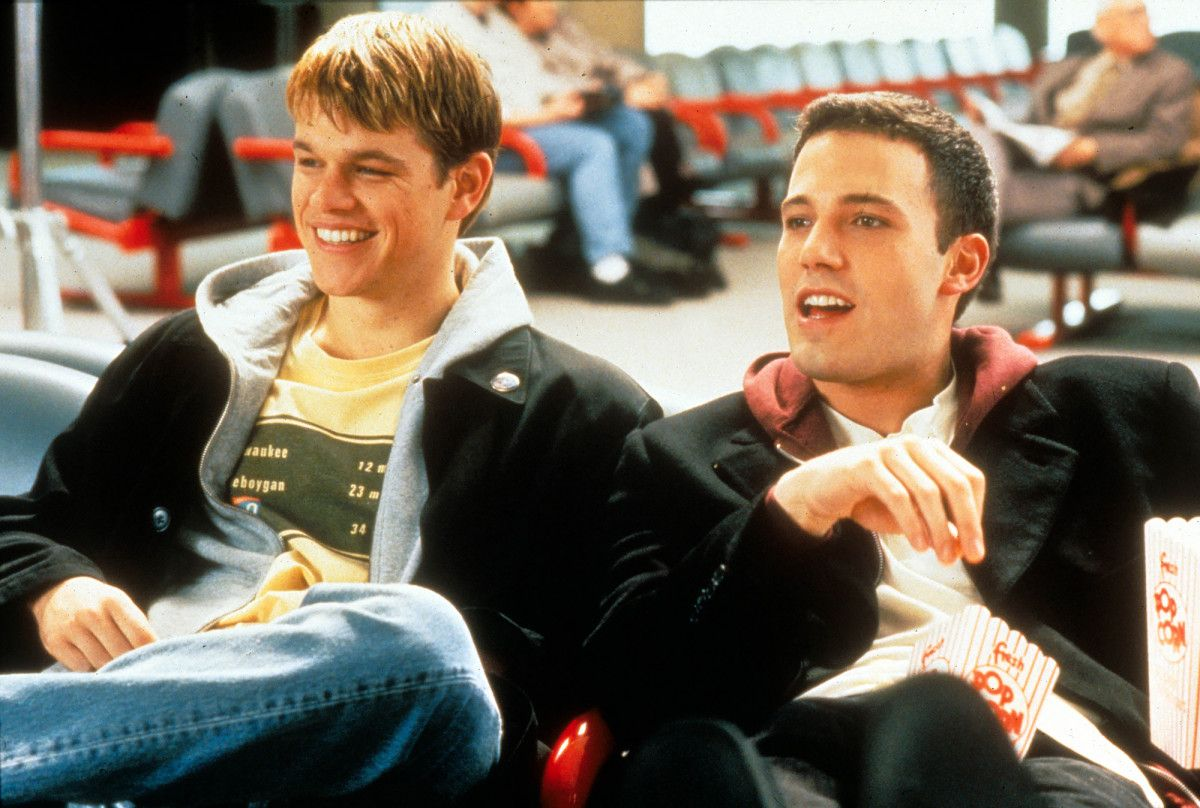 Matt Damon And Ben Affleck S Bromance Through The Years Matt Damon Young Matt Damon Matt Damon Ben Affleck