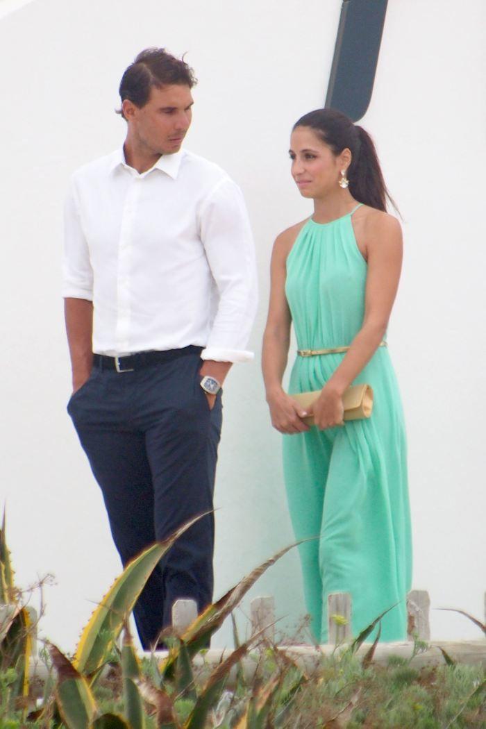 Rafael Nadal And His Girlfriend Maria Francisca Perello At Friends Wedding 15 Jpg 700 1050 Rafael Nadal Rafael Nadal Fans Tennis Champion
