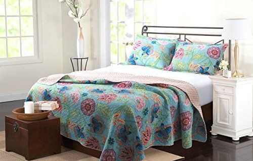 Greenland Home 3-Piece Mystic Quilt Set, Full/Queen, Multi Greenland Home http://www.amazon.com/dp/B00R0XJPHO/ref=cm_sw_r_pi_dp_piOUvb1KH97EC