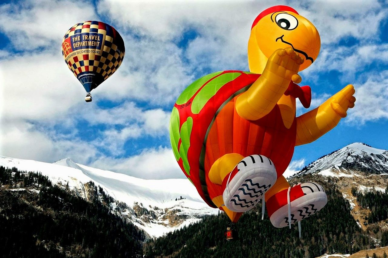 Смешные картинки воздушные шары