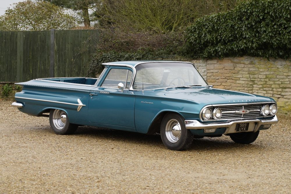 eBay: 1960 Chevrolet El Camino V8 Pickup Truck. UK reg and MOT ...