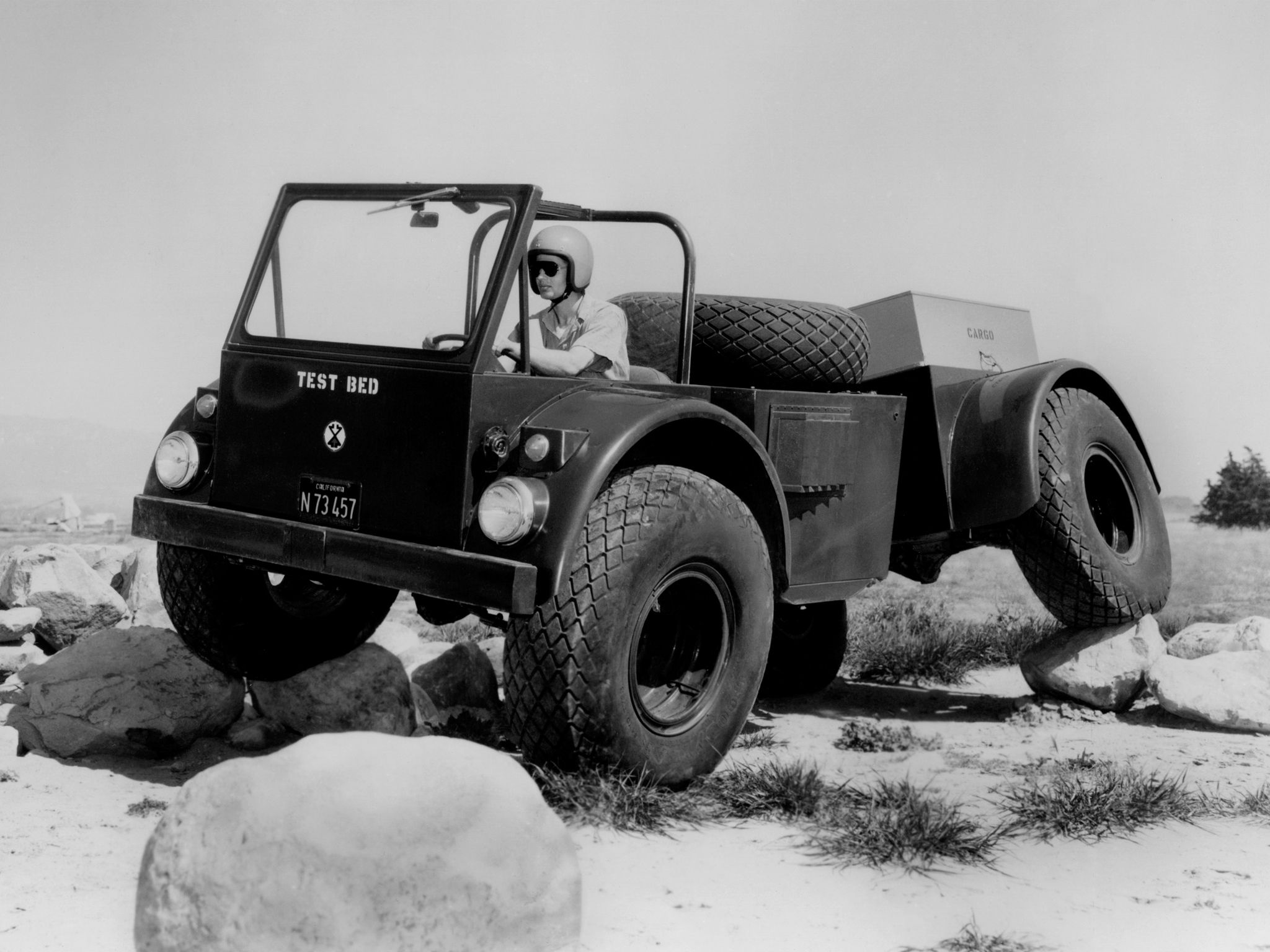 1964 chevrolet sidewinder prototype 4x4 offroad military truck