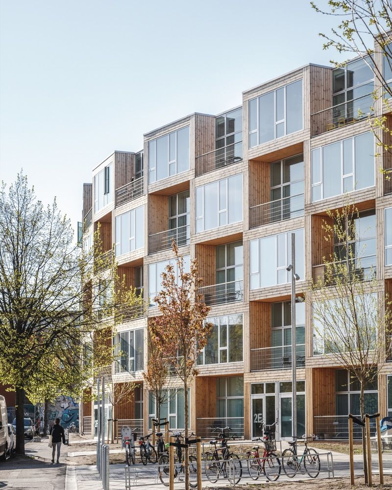 Gallery Of Homes For All Dortheavej Residence Bjarke Ingels Group Bjarke Ingels Group 3 Social Housing Architecture Big Architects Affordable Housing