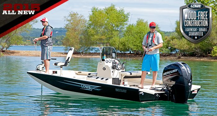Lowe Boats 20 Bay Boat: Center Console Boat, Fishing Boat