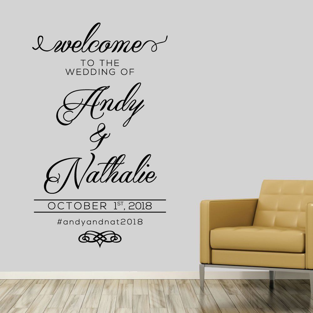 Welcome Wall Decor 100+ [ welcome wall sticker ] | wall art saying promotion shop for