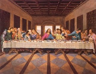 Last Supper Painting We Have A Similar Painting Hanging In Our