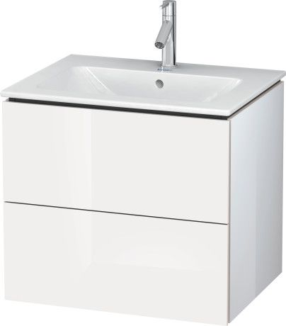 Photo Gallery In Website L Cube Vanity unit wall mounted LC Duravit