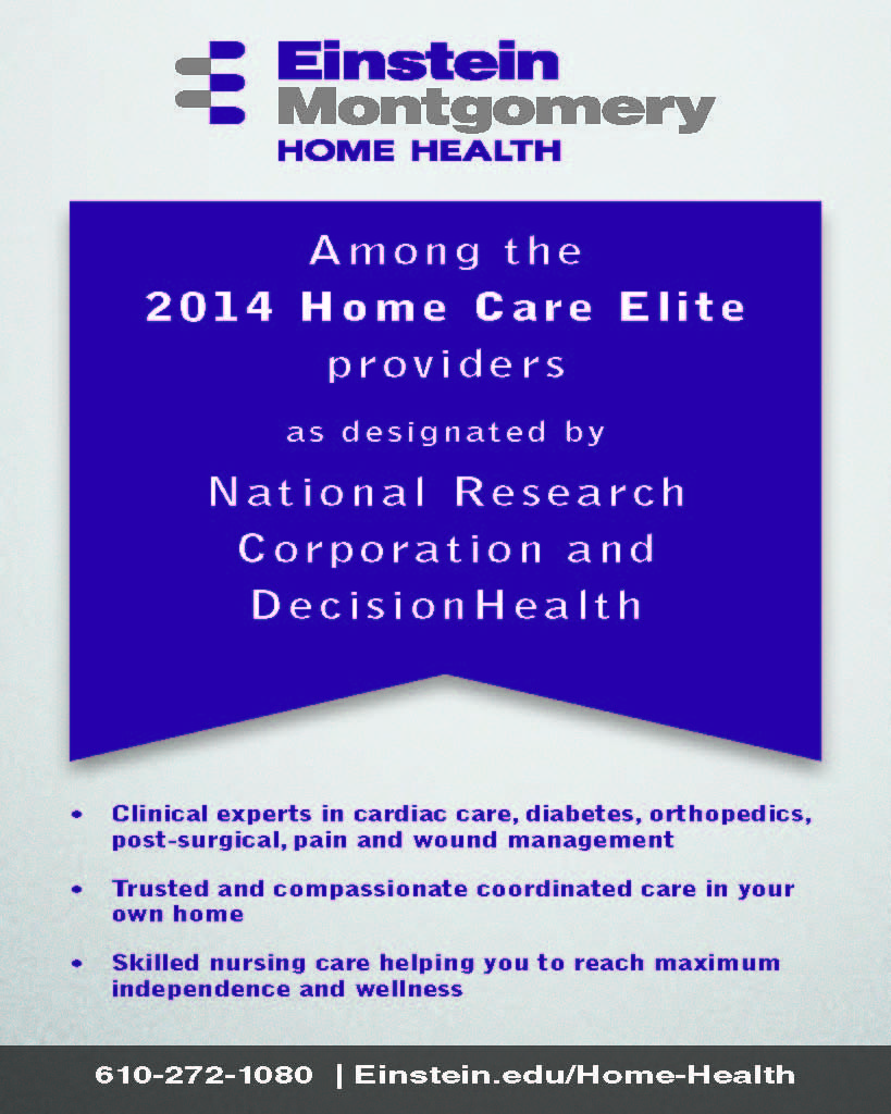 Einstein Montgomery mentioned in this year's Home Care