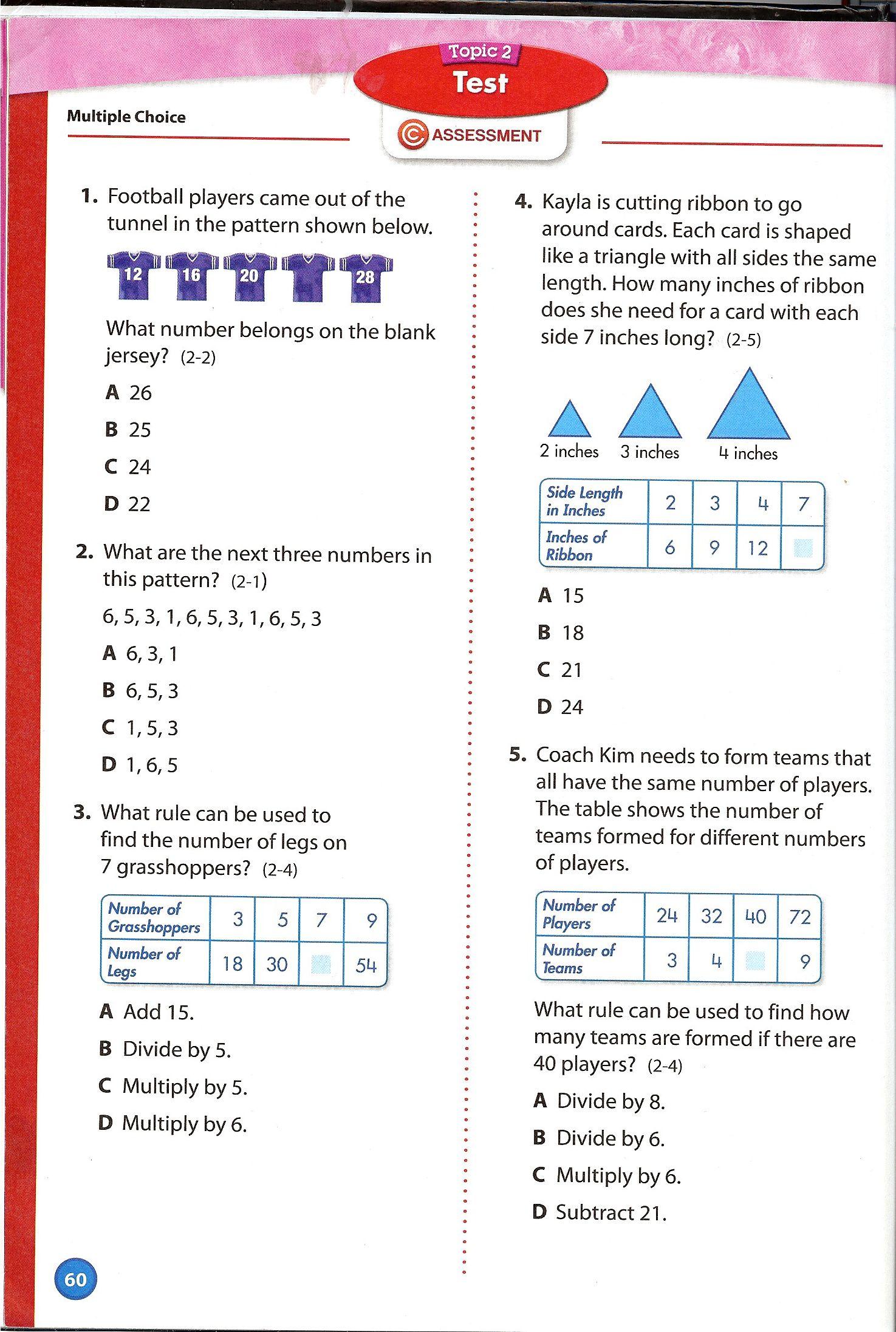 medium resolution of 12 Envision 4th Grade Math ideas   envision math