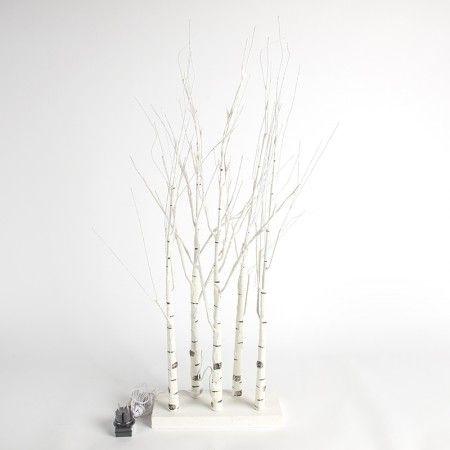 Led Weihnachtsbeleuchtung Warmweiss.Weihnachtsbeleuchtung Birkenast Led Warmweiß 0 9 Meter Weihnachten