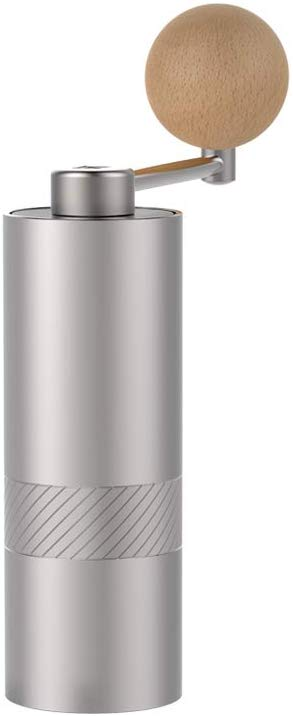Amazon Com 1zpresso Mini Manual Coffee Grinder Q Series Easy Disassembly For Cleaning Small Lightweight 15 20g Capacity Platinum Gray K Manual Coffee Grinder Coffee Platinum Grey