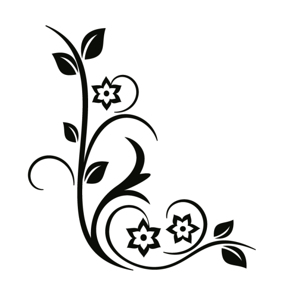 Silhouette fonts folk embroidery border design box cutting files drawing also beautiful borders for chart paper google search rh pinterest