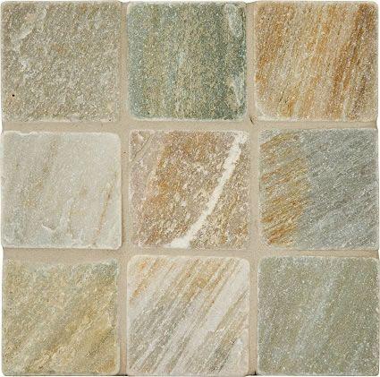 White Quartzite Tile Slabs Mosaics