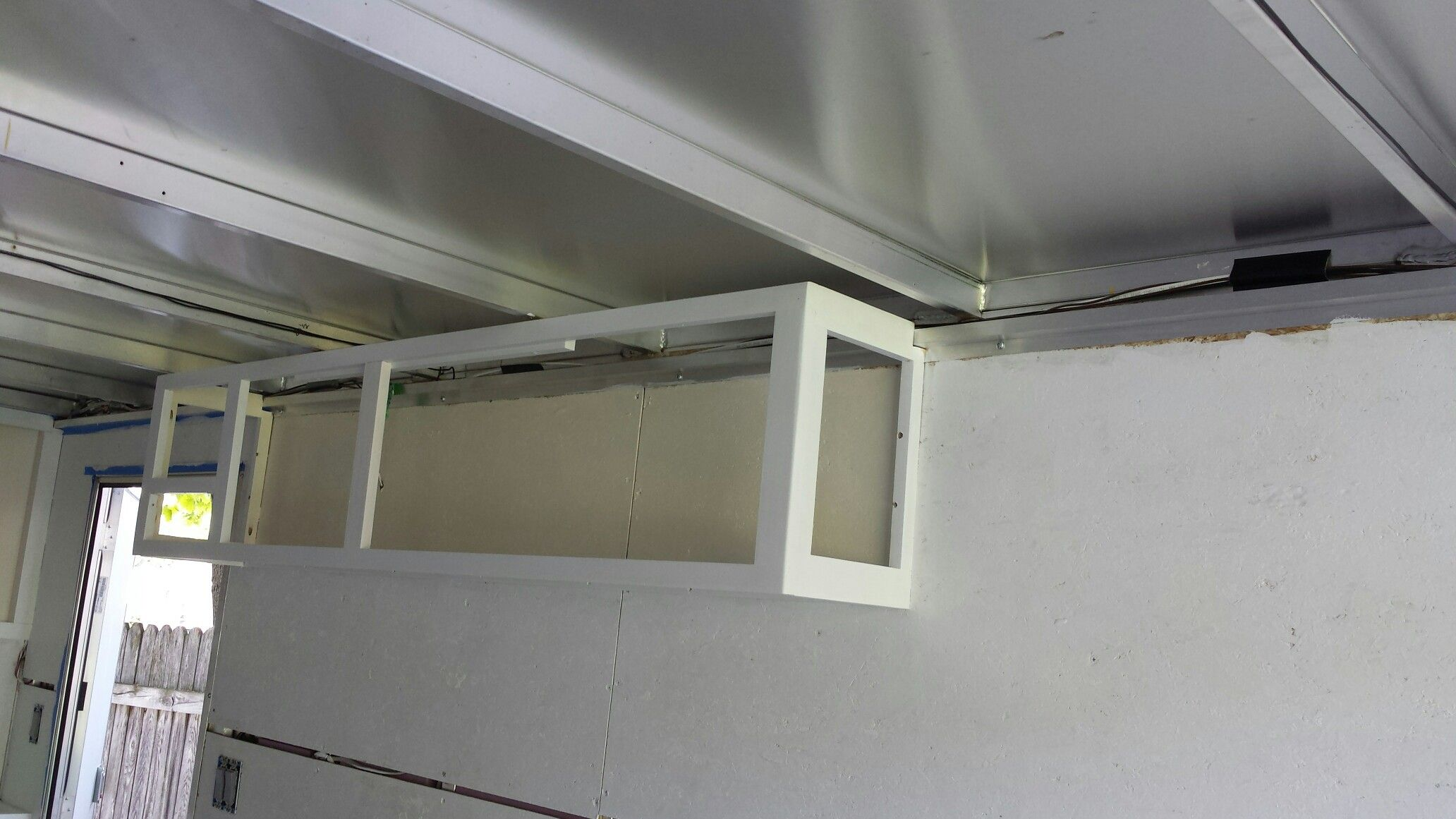 Cabinets For Cargo Trailers Frame For Upperswill Hold Stereo Speakers N Cabinets Cargo