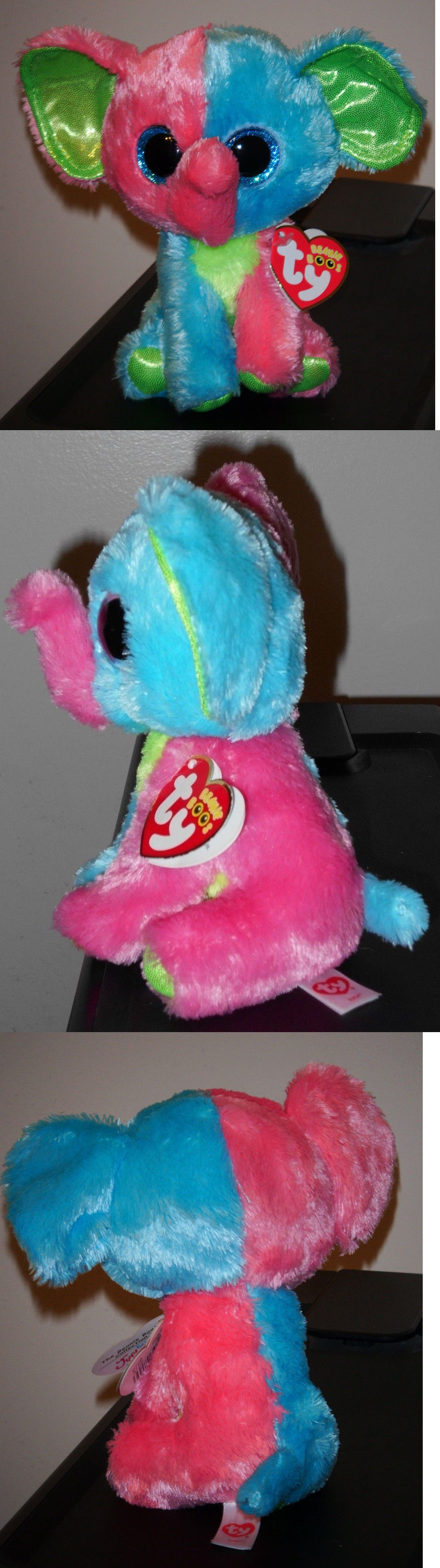 fa197a9a3dc Ty 19203  Ty Beanie Boo S ~ Elfie The Elephant (6 Inch)(Justice Exclusive)  New Mwmt -  BUY IT NOW ONLY   16.9 on  eBay  beanie  elfie  elephant