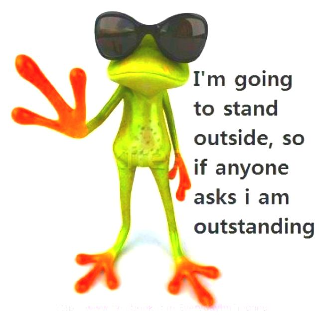I'm outstanding :)