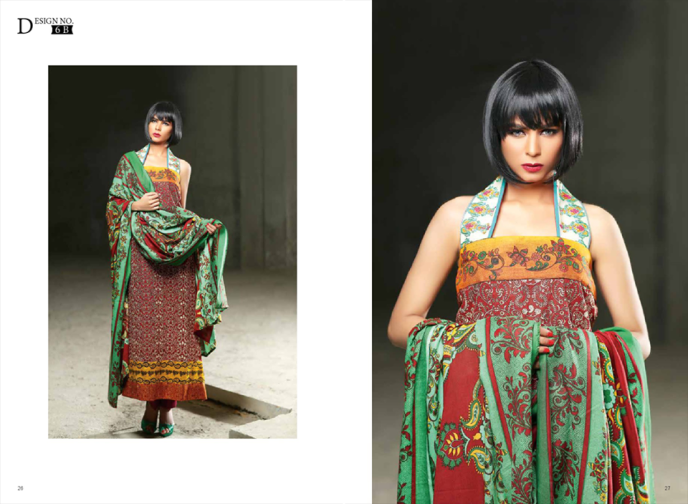 Shariq Textiles Subhata Embroidered Winter Shawls Collection 2015-16