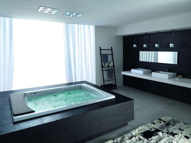50 foto di vasche da bagno moderne bagni di design for Casa moderna bagni