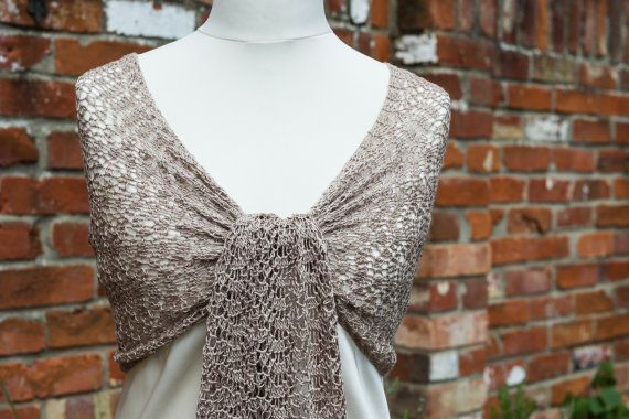 Crocheted lace mulberry silk shawl in hand by CrimsonRabbitBurrow