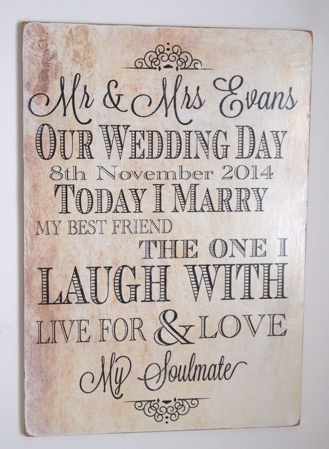 our wedding plaque large personalised a3 sign 19 99 wedding