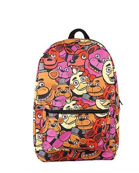 Five Nights at Freddy's Characters School Book Bag Backpack Gift ...