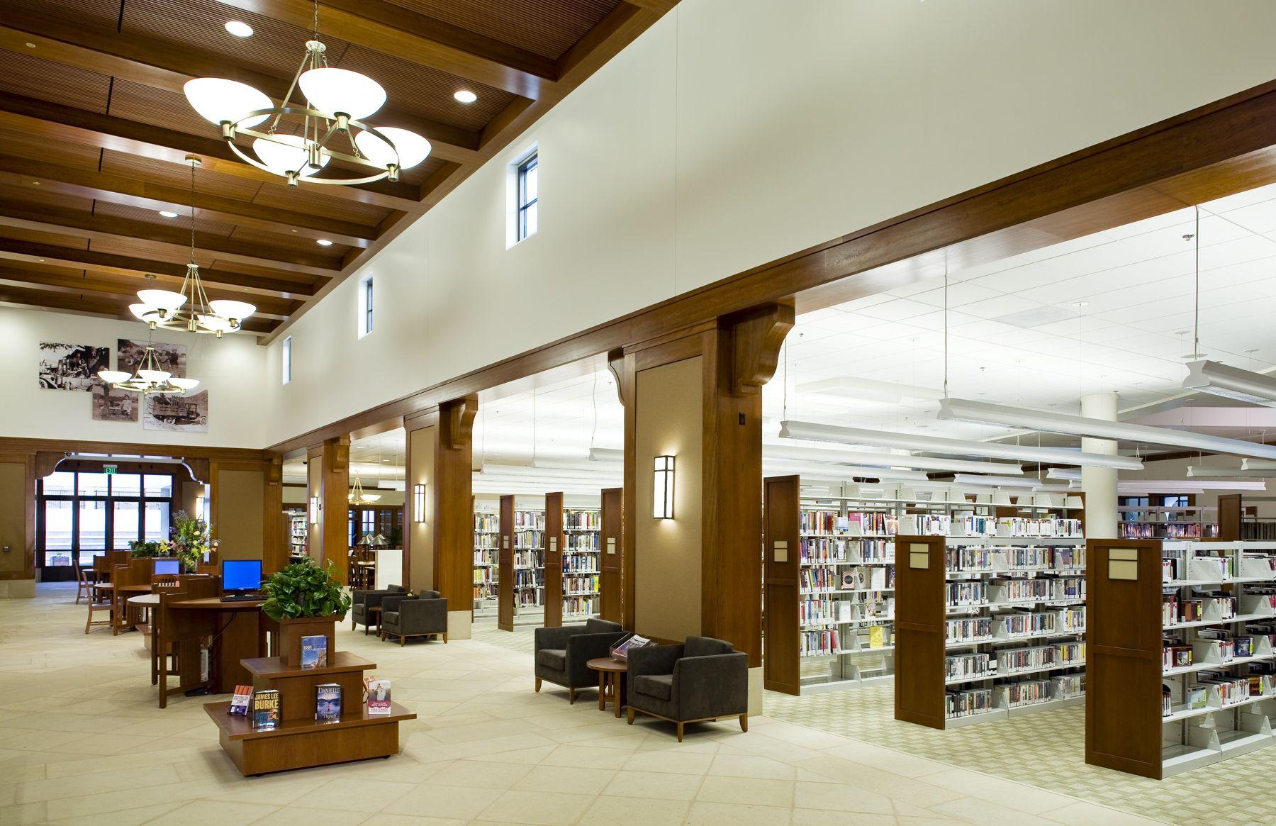 Inside the Calabasas Civic Center & Library Calabasas