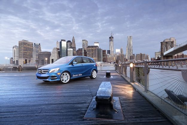 Mercedes-Benz B-Class Electric Drive in New York 2013 (Word Premiere at NYIAS 2013)