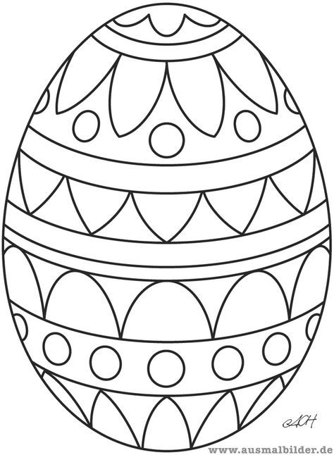 Pin By Silvia Kollner On Ausmalbilder Easter Coloring Pages Printable Easter Egg Designs Easter Colouring