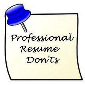 10 No No S For Job Hunting Resume Writers Job Hunting Job